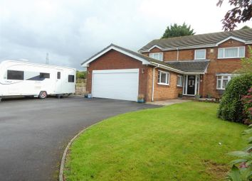 Thumbnail 4 bed detached house for sale in Highland Court, Bryncethin, Bridgend.