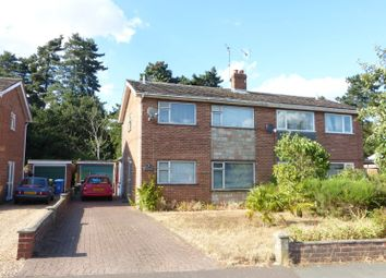 Thumbnail 3 bed semi-detached house for sale in Borrowdale Drive, Norwich, Norfolk