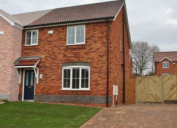 Thumbnail 3 bed semi-detached house for sale in Plot 22, The Canterbury, Wheat Lane Off Hopfield Road, Hibaldstow, Brigg