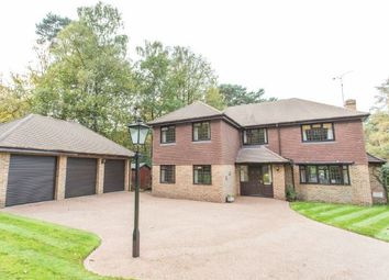 Thumbnail 5 bedroom detached house for sale in Fantastic Layout. Longhill Road, Ascot, Berkshire
