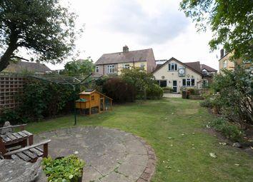 Thumbnail 3 bed detached bungalow for sale in Hampton Road, London