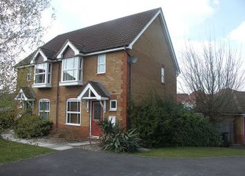 Thumbnail 3 bed semi-detached house to rent in Redwing Road, Basingstoke