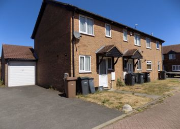 Thumbnail 2 bed semi-detached house to rent in Rudyard Close, Luton, Bedfordshire