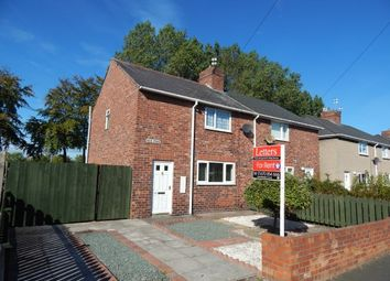 Thumbnail 2 bed semi-detached house to rent in Haig Road, Bedlington