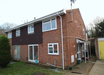 Thumbnail 1 bed semi-detached house for sale in Dame Anthonys Close, Binstead, Ryde