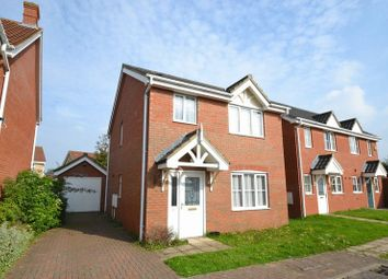 Thumbnail 3 bedroom detached house to rent in Speedwell Way, Norwich