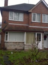 Thumbnail 3 bed terraced house to rent in Grindleford Road, Great Barr, Birmingham