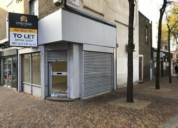 Thumbnail Retail premises to let in 393 Mare Street, Hackney, London