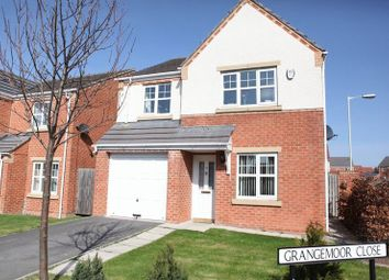 Thumbnail 4 bed detached house for sale in Carlton Moor Crescent, Darlington