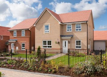 "Thumbnail 4 bedroom detached house for sale in ""Radleigh"" at Bruntcliffe Road, Morley, Leeds"