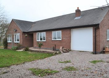 Thumbnail 3 bed detached bungalow to rent in Acresford Road, Overseal, Swadlincote