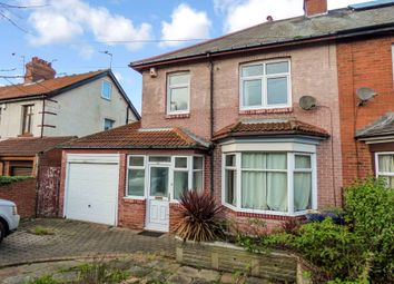 Thumbnail 3 bedroom semi-detached house to rent in Benton Park Road, Longbenton, Newcastle Upon Tyne