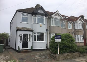 Thumbnail 3 bed semi-detached house for sale in Hillfoot Road, Romford