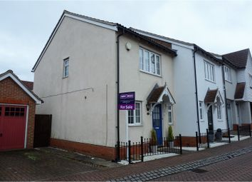 Thumbnail 2 bed end terrace house for sale in Malkin Drive, Harlow