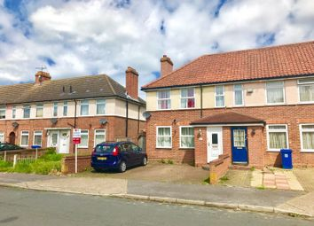 Thumbnail 4 bedroom end terrace house for sale in Thackeray Road, Ipswich