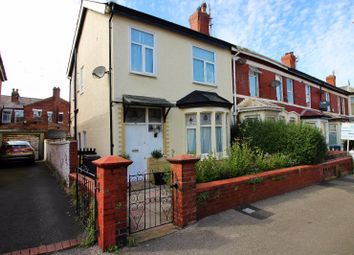 Thumbnail 3 bed end terrace house to rent in Saville Road, Blackpool
