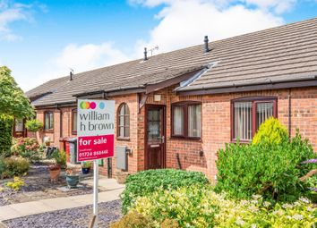 Thumbnail 1 bed terraced bungalow for sale in Hall View, Messingham, Scunthorpe