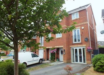 Thumbnail 4 bed semi-detached house for sale in Swan Grove, Westport View, Stoke-On-Trent