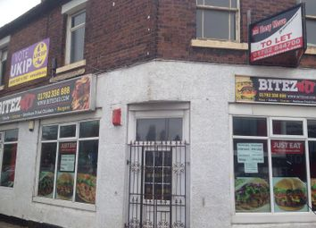 Thumbnail Studio to rent in Uttoxeter Road, Longton, Stoke On Trent