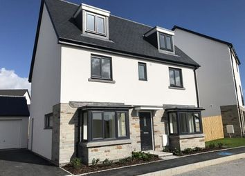 Thumbnail 5 bed detached house for sale in Morley Park, Plymouth, Devon