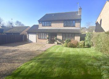 Thumbnail 4 bed detached house for sale in Larklands, Longthorpe, Peterborough