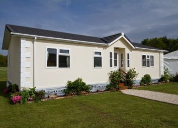 Thumbnail 2 bed mobile/park home for sale in Knoll Residential Park, Gatemore Road, Winfrith Newburgh, Dorchester