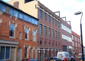 2 bed flat to rent in Wexler Lofts, Carver Street, Jewellery Quarter, Birmingham B1