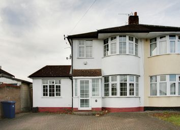 Thumbnail 4 bed semi-detached house to rent in Gallants Farm Road, East Barnet