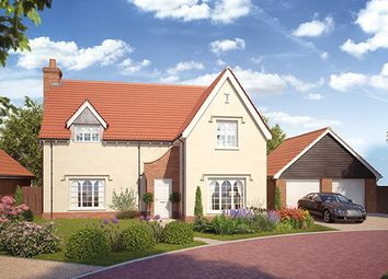 Thumbnail 4 bed detached house for sale in Earl's Meadow, The Street, Easton, Suffolk