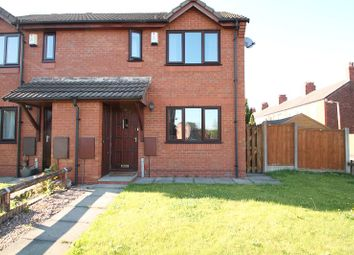 Thumbnail 2 bedroom semi-detached house for sale in Station Road, Reddish, Stockport