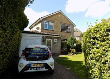 Thumbnail 3 bed detached house to rent in Knightsbridge Avenue, Grappenhall, Warrington