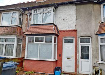 Thumbnail 3 bed terraced house for sale in Milverton Road, Erdington, Birmingham