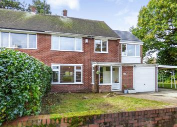 Thumbnail 4 bed semi-detached house for sale in Patterdale Road, Bebington, Wirral