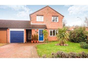Thumbnail 4 bed detached house for sale in Wycliffe Grove, Peterborough
