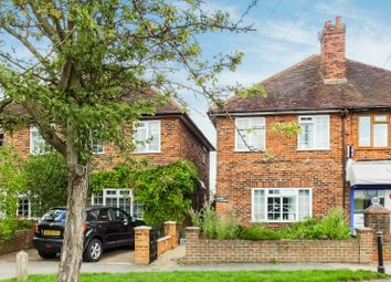 Thumbnail 3 bed semi-detached house for sale in Mayford Green, Woking
