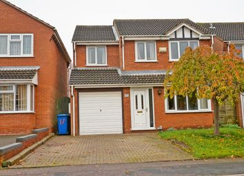 Thumbnail 4 bed detached house for sale in Arbor Close, Tamworth