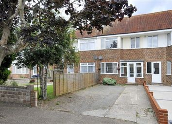 Thumbnail 3 bed terraced house for sale in Ardingly Drive, Goring-By-Sea, Worthing, West Sussex