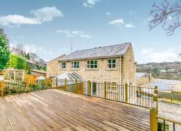 Thumbnail 4 bed semi-detached house for sale in Hillbeck, Wheatley, Halifax