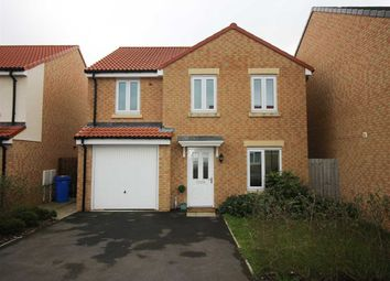 Thumbnail 4 bed detached house to rent in Canberra Drive, Collingwood Grange, Cramlington