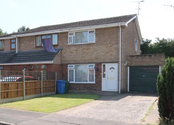 Thumbnail 2 bed semi-detached house for sale in Loddon Road, Farnborough