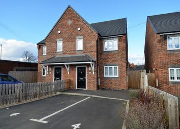 Thumbnail 3 bedroom semi-detached house to rent in Pond Street, Chesterfield, Derbyshire