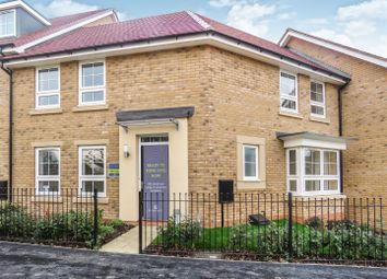 Thumbnail 3 bed terraced house for sale in Knights Way, St. Ives, Huntingdon