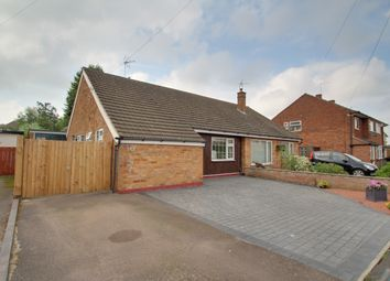 Thumbnail 2 bed semi-detached bungalow for sale in Blenheim Road, Birstall, Leicester