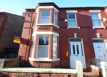 Thumbnail 3 bedroom end terrace house for sale in Portman Road, Wavertree, Liverpool