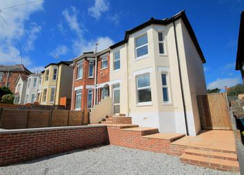 Thumbnail 3 bedroom semi-detached house to rent in Library Road, Parkstone, Poole
