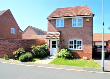 Thumbnail 3 bed detached house for sale in May Drive, Glenfield, Leicester