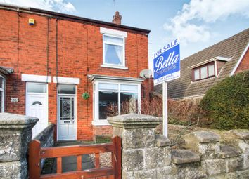 Thumbnail 2 bed end terrace house for sale in Station Road, Gunness, Scunthorpe