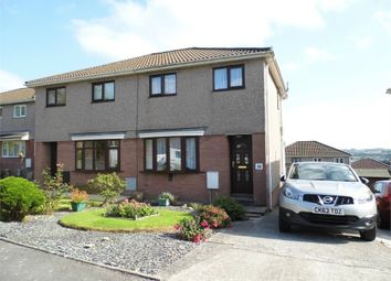 Thumbnail 3 bed semi-detached house for sale in The Hollies, Brackla, Bridgend, Mid Glamorgan