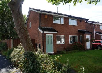 Thumbnail 2 bed semi-detached house for sale in Larchwood Close, Sale
