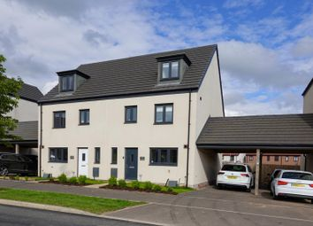 Thumbnail 4 bed semi-detached house for sale in Church Road, Old St. Mellons, Cardiff